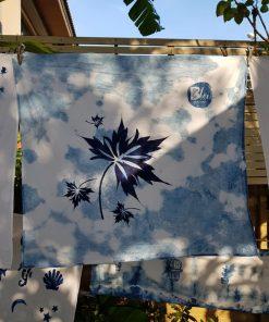 ผ้ามัดย้อม indigo dye ไร่เคียงน้ำ กบินทร๋บุรี